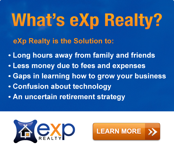 Banner Ads for eXp Realty Agent Attraction