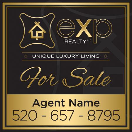 Luxury For Sale Sign